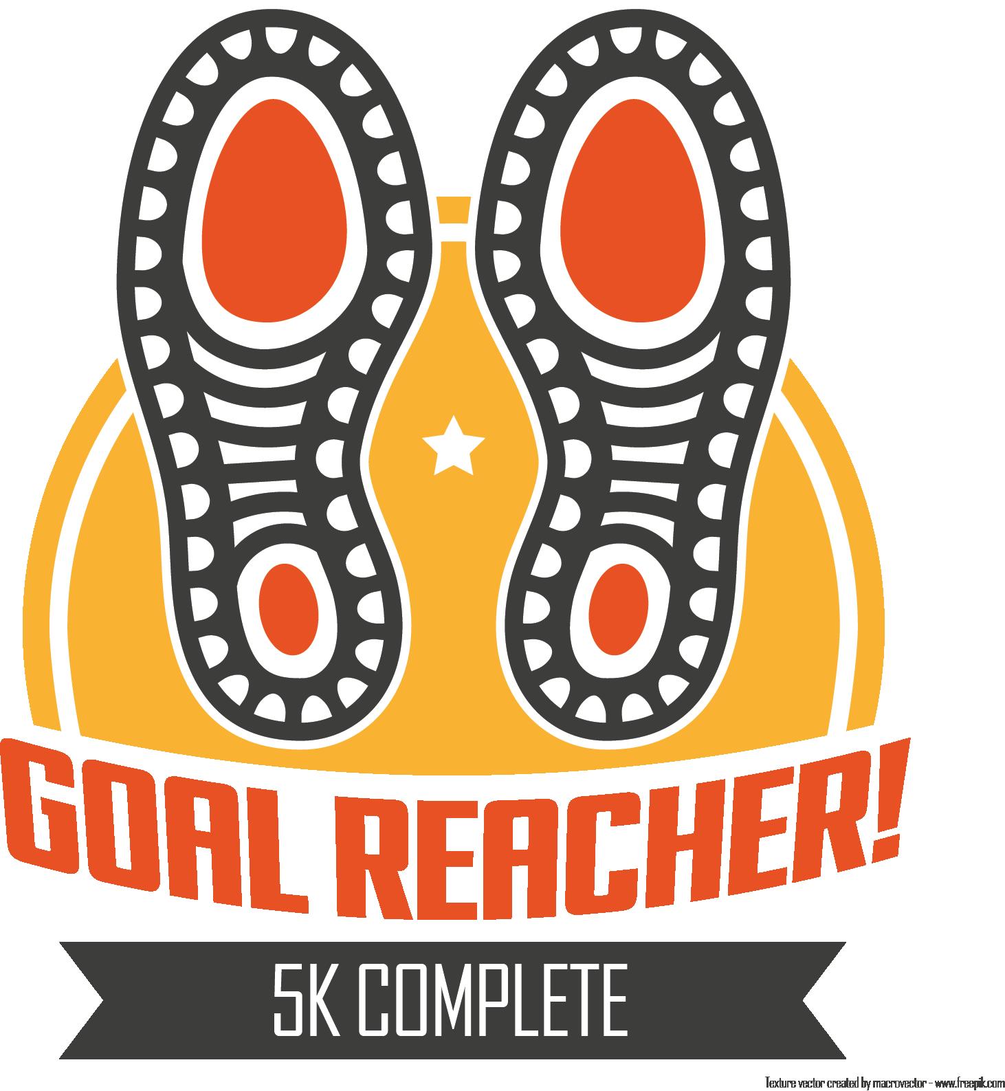 Goal Reacher Badge (5k)